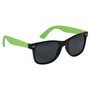 Retro Sunglasses - Lime