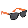 Retro Sunglasses - Orange