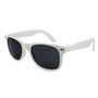 Retro Sunglasses - White/ White