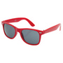 Retro Sunglasses - Red/Red