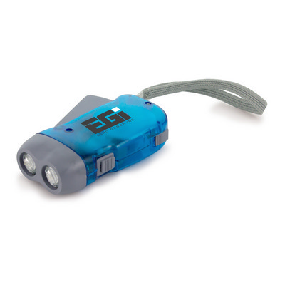 Picture of Handy Dynamo Torch - Blue