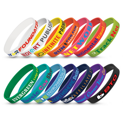 Picture of Silicone Wrist Band - Indent