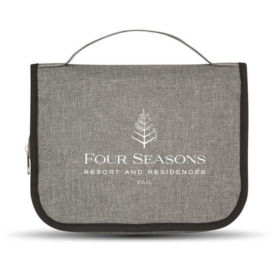Picture of Heathered Hanging Toiletry Bag
