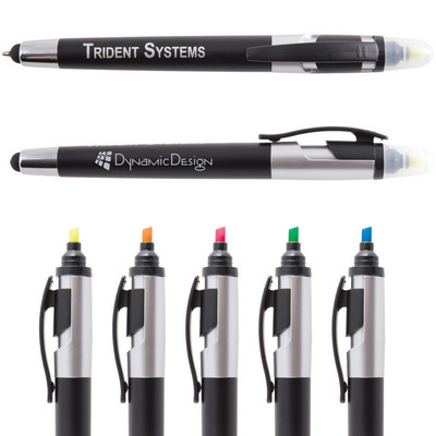 Picture of Trident Pen  Stylus Highlighter