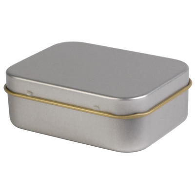 Picture of Silver Rectangular Tin