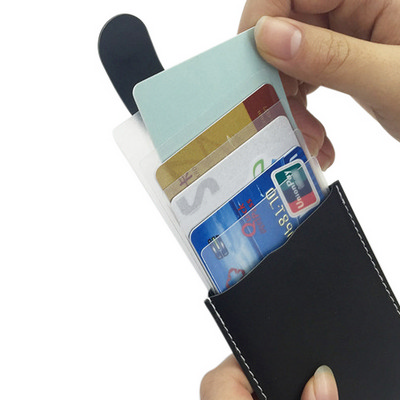 Picture of PU Card Holder with RFID Protection