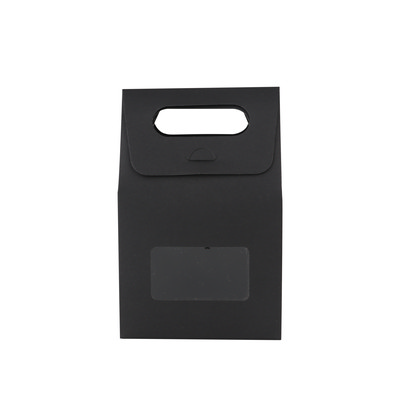 Picture of Die cut Handle Bag with Window(135x200x7