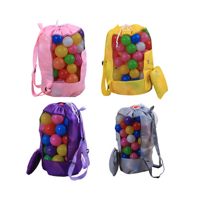 Picture of Foldable Mesh Drawstring Backpack