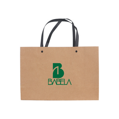 Picture of Small Crosswise Kraft Paper Bag with Kni