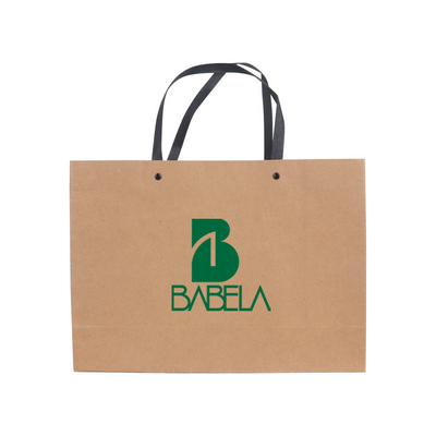 Picture of Large Crosswise Kraft Paper Bag with Kni