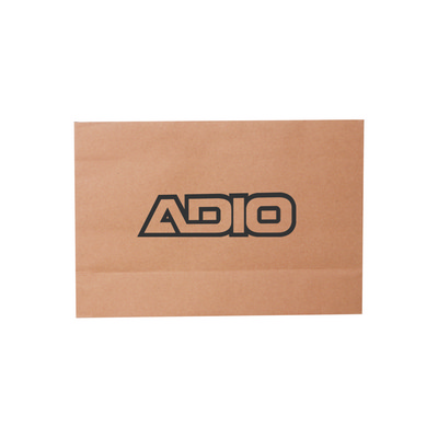 Picture of Small Kraft Paper Bag With Thread Flat H