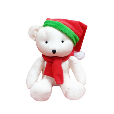 Picture of Calico Bear Plush Toy
