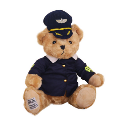 Picture of Cloth Changing Plush Toy - Teddy Bear