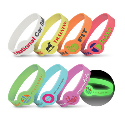 Picture of Xtra Silicone Wrist Band - Glow in the D