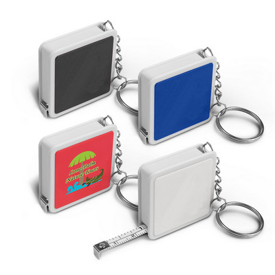 Picture of Square Tape Measure Key Ring