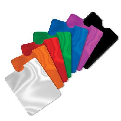 Picture of RFID Data Blocking Phone Card Sleeve
