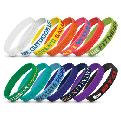 Picture of Silicone Wrist Band - Debossed