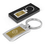 Wave Metal Key Ring