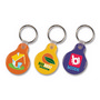 Flexi Resin Key Ring - Round