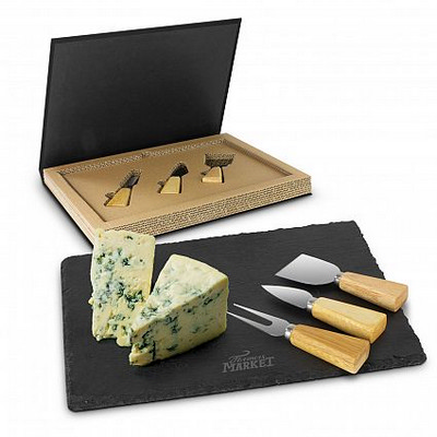 Picture of Montrose Slate Cheese Board Set