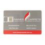 Acrylic Credit Card Flash Drive 1GB