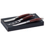 Bordeaux Cheese Knife 3 pcs Set