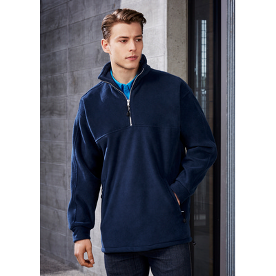 Picture of Mens Heavy Weight 1/2 Zip Winter Fleece