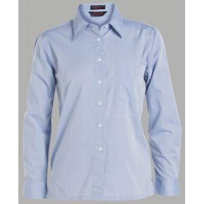 Picture of JB'S  LADIES ORIGINAL L/S FINE CHAMBRAY SHIRT