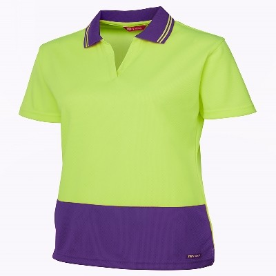 Picture of JB'S HV 4602.1 LADIES S/S NON BUTTON POLO