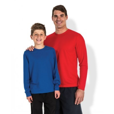 Picture of PODIUM KIDS L/S POLY TEE