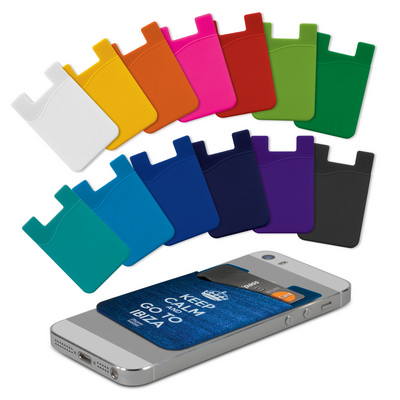 Picture of Silicone Phone Wallet - Full Colour