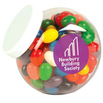 Picture of Assorted Colour Mini Jelly Beans in Cont