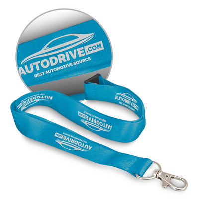 Picture of Soft Touch Logo Lanyard