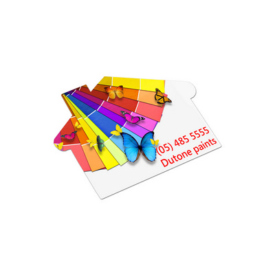 Picture of AD Labels 70 x 50mm - House Shaped