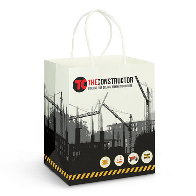 Picture of Medium Paper Carry Bag  Full Colour