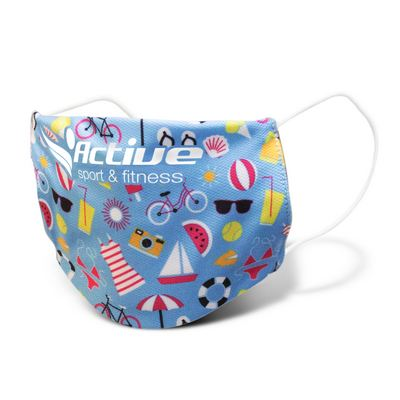 Picture of Reusable Face Mask Full Colour - Small