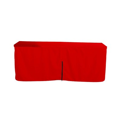 Picture of Fitted Table Cloth With Zipper Back  4ft