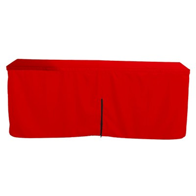 Picture of Fitted Table Cloth With Zipper Back  8ft