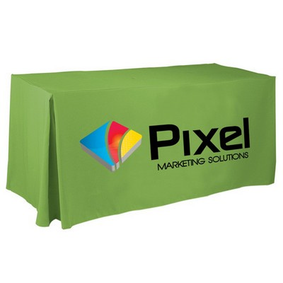 Picture of 4 Side Pleated Table Cloth  8ft