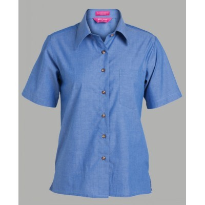 Picture of JBs Ladies Original SS Chambray Shirt