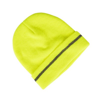 Picture of JBs Fluoro Reflective Beanie Lime