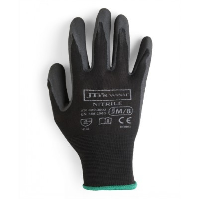 Picture of JBs Black Nitrile Breathable Glove (12 P