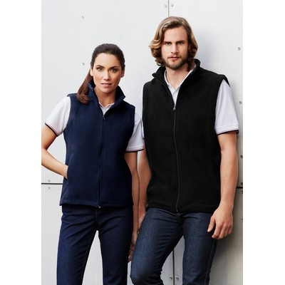 Picture of Mens Plain Micro Fleece Vest