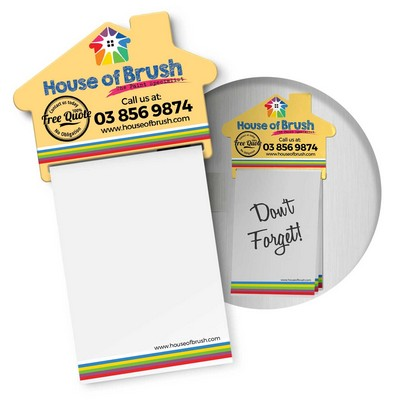 Picture of Magnetic House Memo Pad A7 - Full Colour