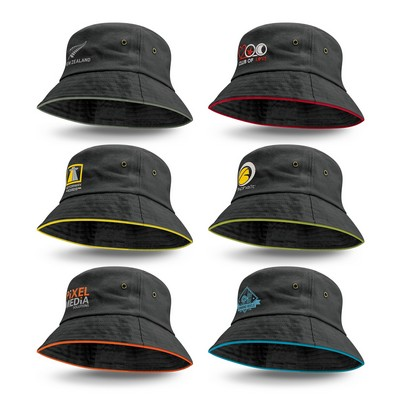 Picture of Bondi Bucket Hat - Coloured Sandwich Trim