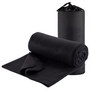 Polar Fleece Travel Rug - Black