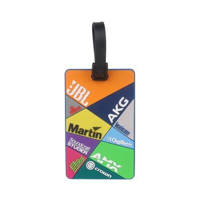 Picture of Custom Shaped PVC Luggage Tag