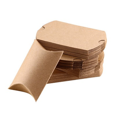 Picture of Small Brown Kraft Pillow Box(125 x 75 x