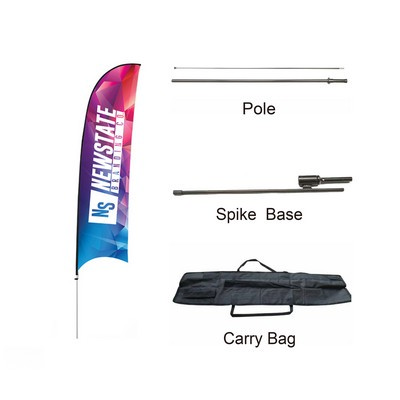 Picture of Small(65.3200cm) Concave Feather Banners