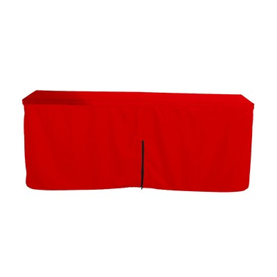 Picture of Fitted Table Cloth with Zipper Back  6ft